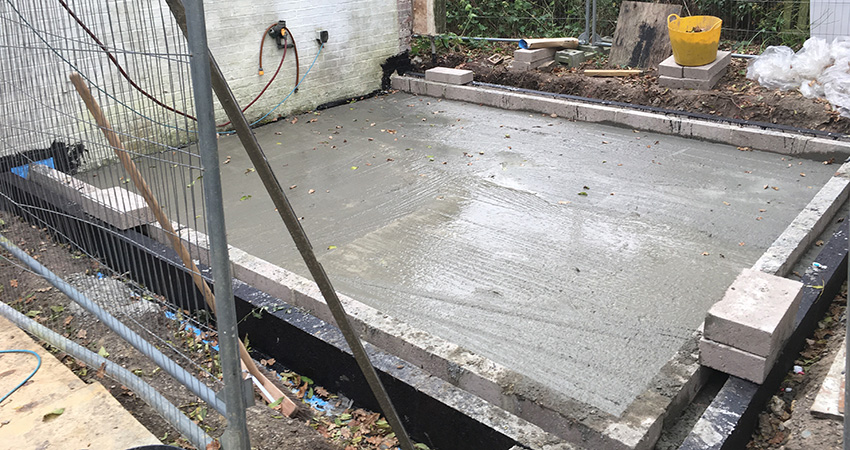 Heatherwode Concrete Oversite
