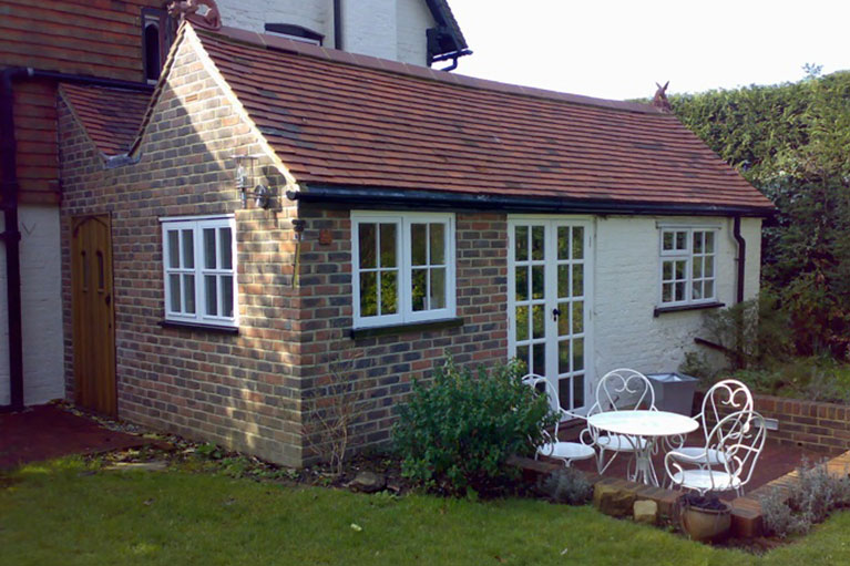 Kitchen extension, design and fitting