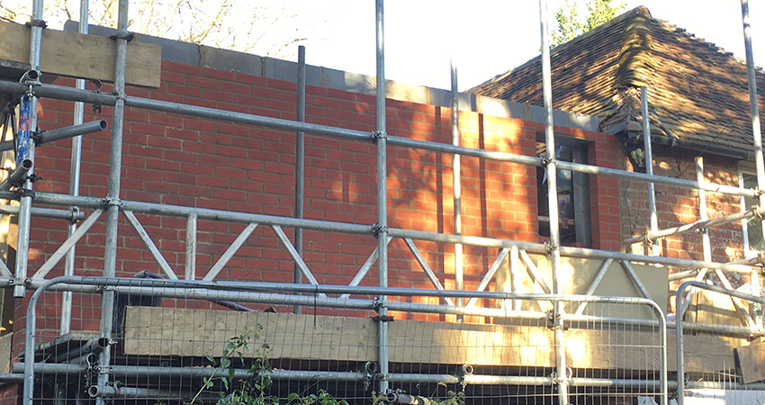 Heatherwode Brickwork To Eave