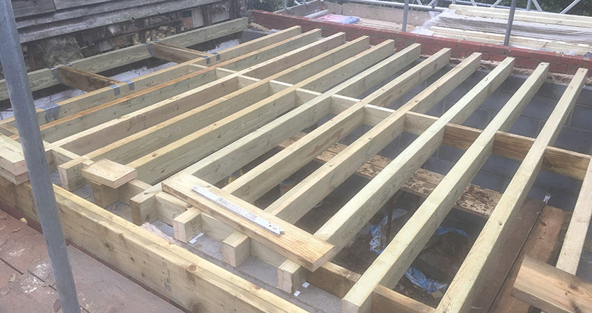 Heatherwode First Floor Joists