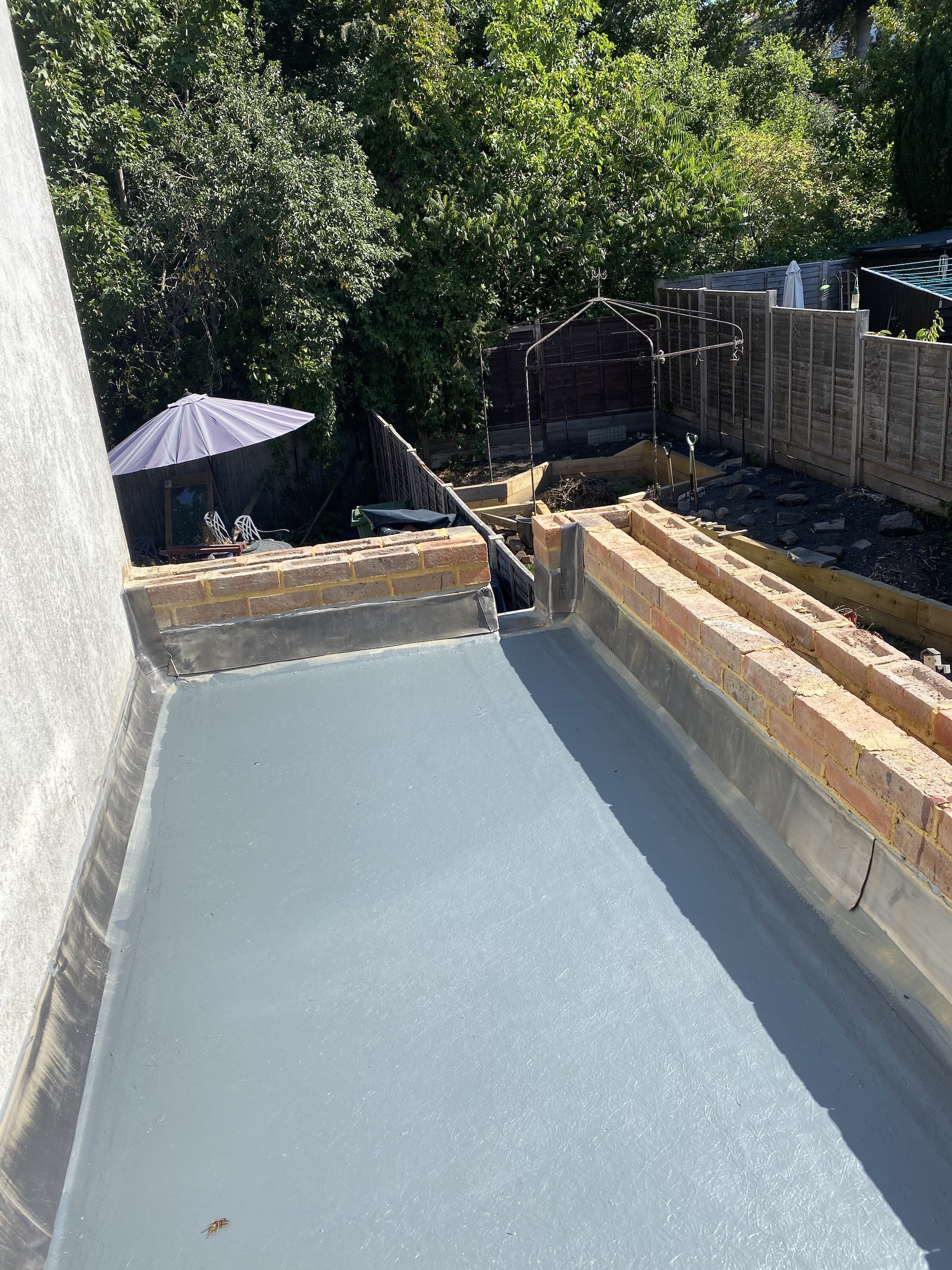 New GRP Flat Roof